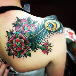 Mandala Peacock by RJ Munger at Splash of Color